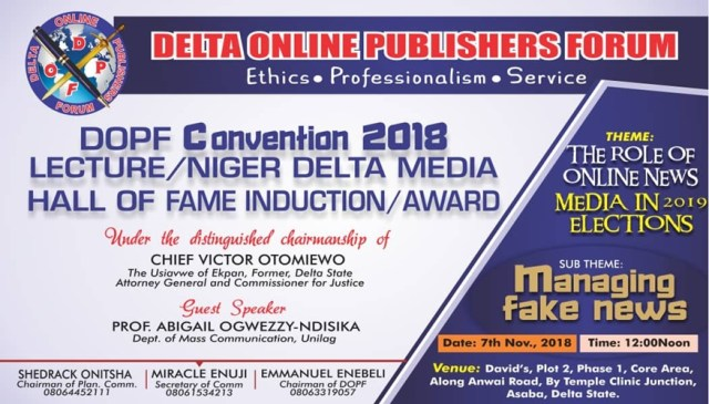Delta Online Publishers Forum 2018 Convention