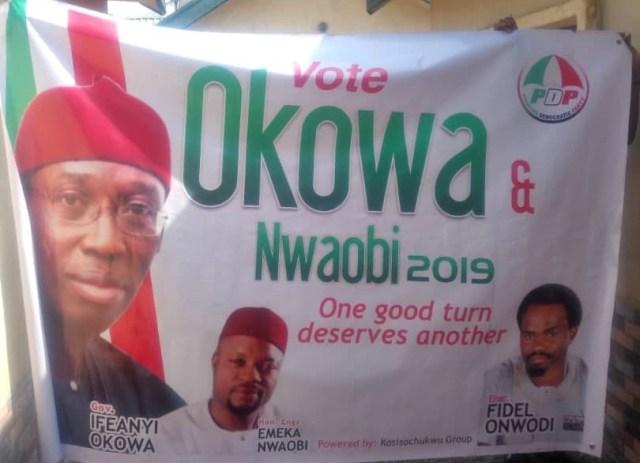 Fidel Onwodi for Okowa and Nwaobi