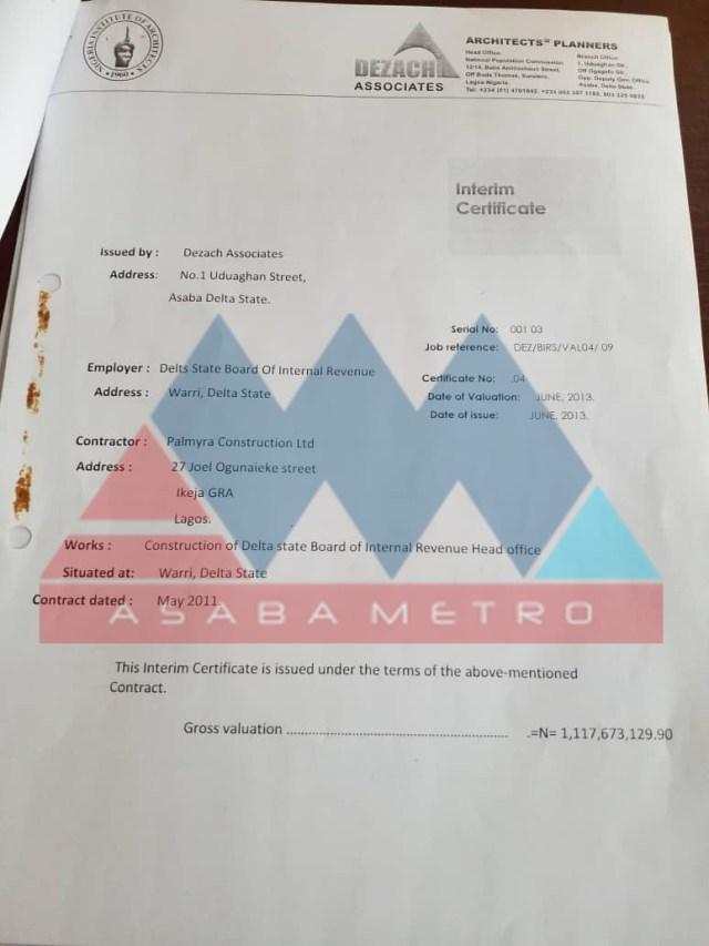Joel-Onowakpo Contract Scam Documents