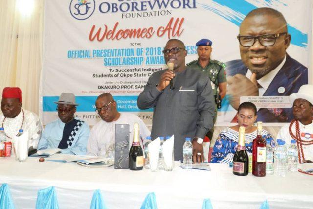 Speaker Sheriff Oborevwori