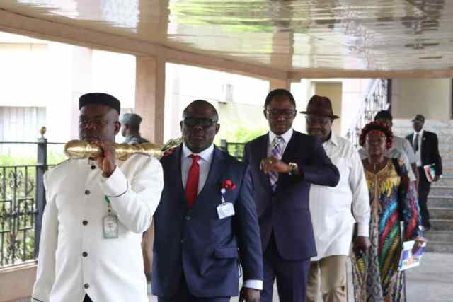 Principal Officers of the Delta State House of Assembly
