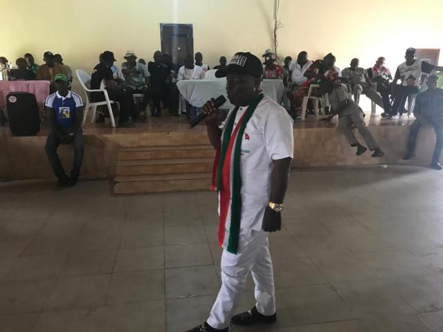 Peter Uviejitobor Campaigns in Ovwian, Aladja and Orhuwhorun communities in Udu LGA