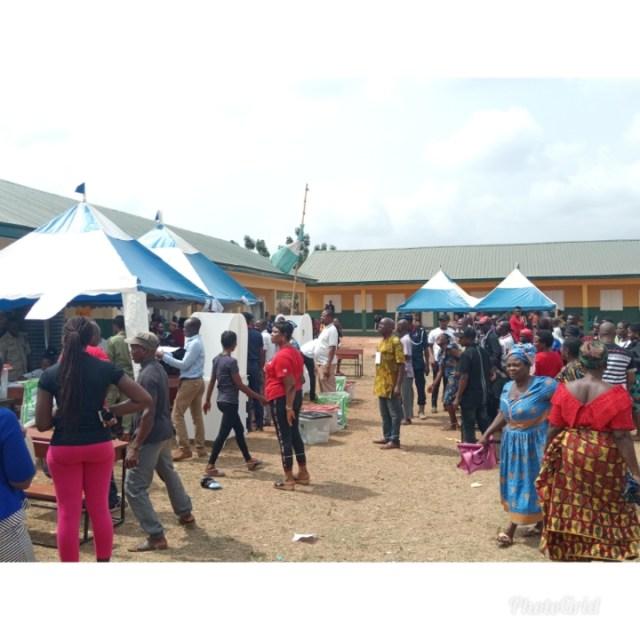 Voting Section in Akwukwu-Igbo