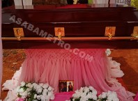 Casket Bearing the Remains of Late Mrs Rita Uchebuego