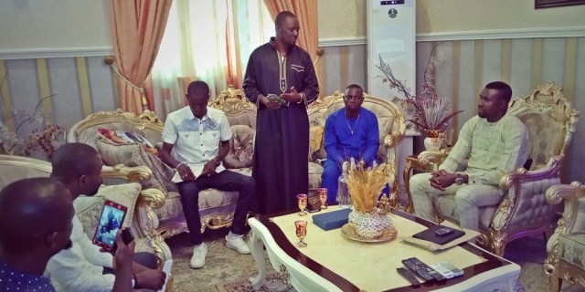 Prince Kpokpogri Receives Delta Integrity Group