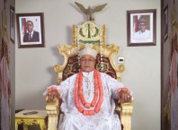 Monarch of Seimbiri Kingdom, HRM Dr. Charles Ayemi-Botu (JP), OFR
