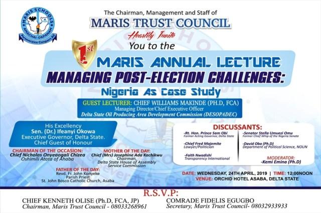 Maris Annual Lecture