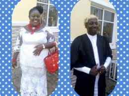 Inset: Leader of Aniocha North Legislative Arm in Delta State, Hon. Ekene Origin Nwaonye and Wife