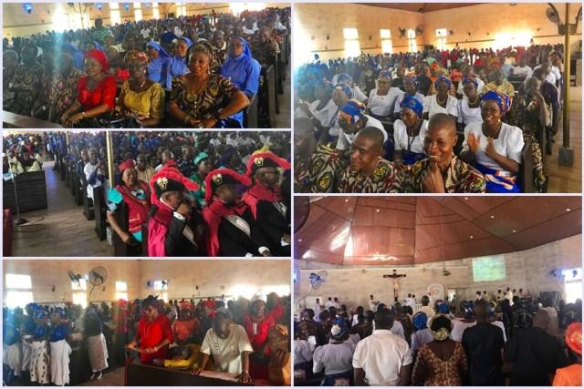 Dedication of Saint Martin of Tours Catholic Church Igbodo