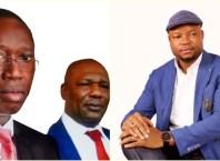Pics Inset: Delta State Governor, Dr Ifeanyi Okowa, Deputy Governor, Barr. Kingsley Otuaro and Hon Emeka Nwaobi