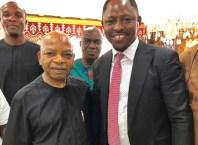 Deputy Speaker, Rt. Hon Friday Osanebi Visits Chief Arthur Eze in Enugu State