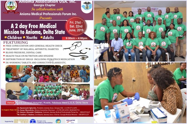 ANIOMA ASSOCIATION MEDICAL OUTREACH