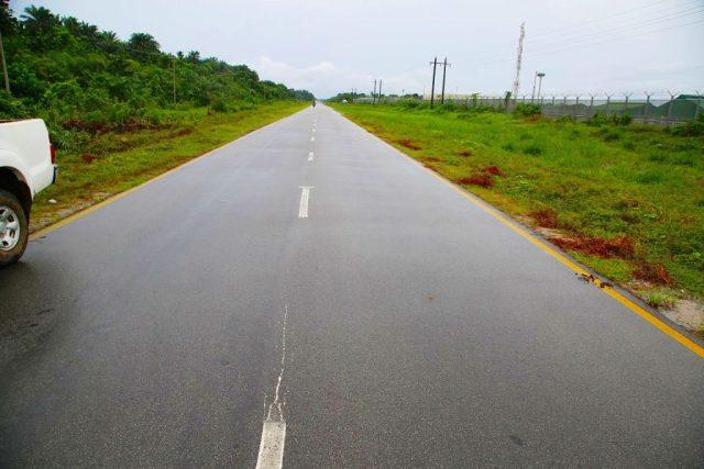 Rehabilitated Road in Burutu