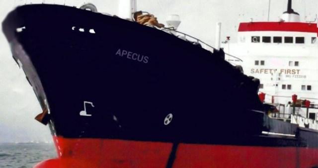 Vessel MT APECUS