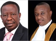 Picture Inset: Hon Solomon Ighrakpata (left) and Festus Keyamo, SAN (right)