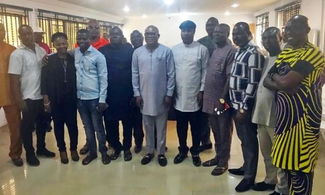 Delta South PDP Exco Visit to Chief Solomon Funkekeme