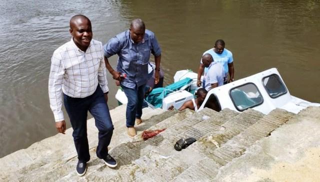 Hon Andrew Igban (l) Visit To Riverine Communities in Warri South West LGA