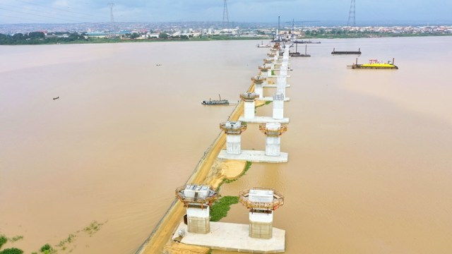 Second River Niger Bridge Being Constructed by Julius Berger