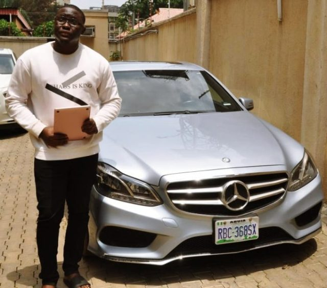 Suspected Yahoo Boy Paraded by EFCC