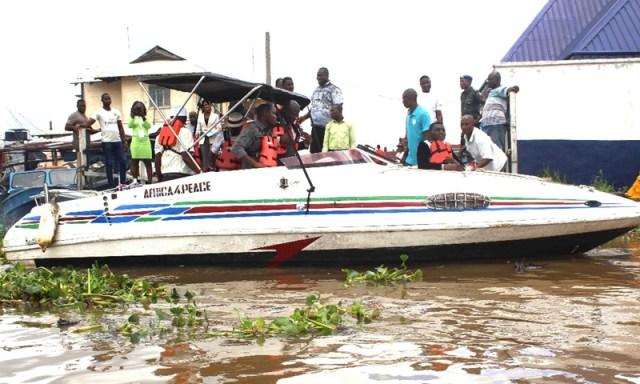CEPEJ Donates Luxury Speed Boat