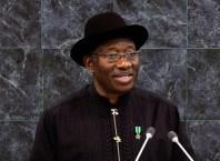 Dr. Goodluck Jonathan, President of Nigeria 2010-2015.