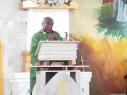 Catholic Priest, Very Rev. Fr. Hilary Nwadei