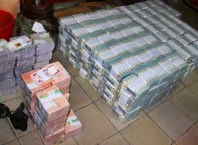 Illustration Photo: Stash of Nigeria Currency