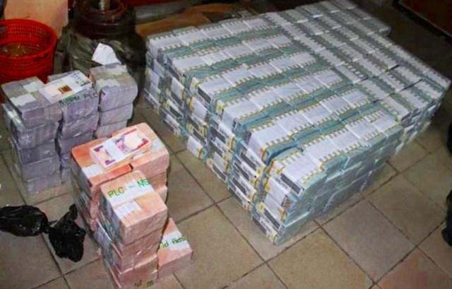 Illustration Photo: Stash of Nigeria Currency