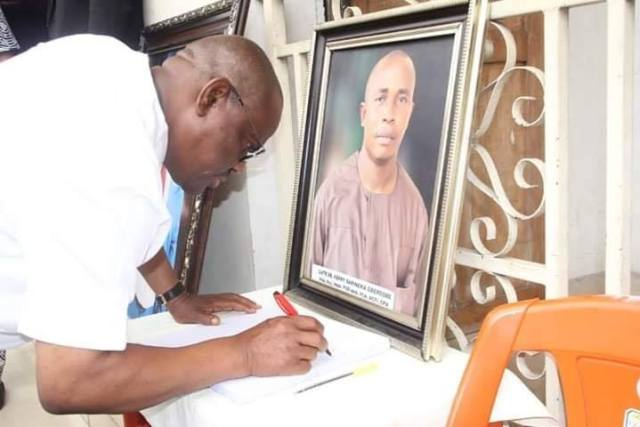 Rivers State Governor, Nyesom Ezenwo Wike Mourns Dr Ferry Gberegbe