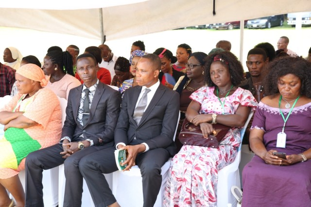A Cross section of Caregivers during the 2019 world Orphans day.