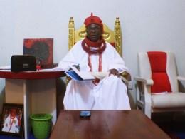 His Royal Majesty, (Dr) Emmanuel Sideso Abe 1, JP, OON, Ovie of Uvwie Kingdom