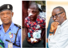 Pics Inset: CSO George Efeizomor; Emma Coker, Brutalised Automobile Repairer; and Governor Ifeanyi Okowa