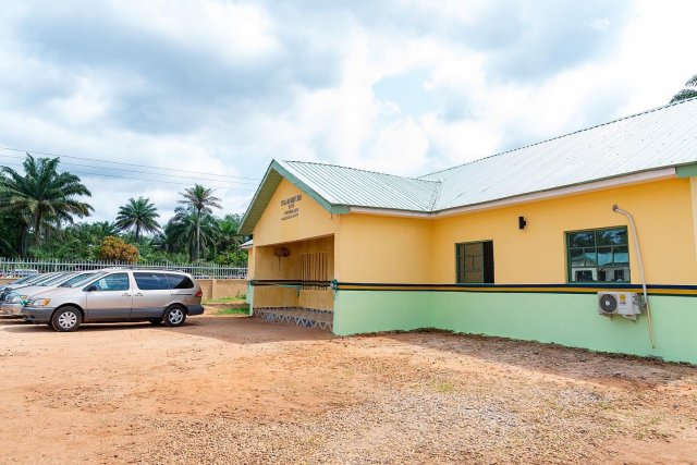 Special Anti-Robbery Squad (SARS) office built and donated by Fountain of Joy and Comfort Foundation in Ute-Ogbeje