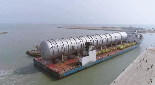 Dangote Refinery Crude Distillation Column Equipment