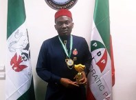 Minority Leader, the House of Representatives, Hon. Ndudi Godwin Elumelu bags Legislator of the Year 2019 Award