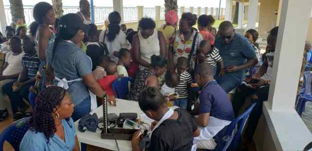 Eric Igban Foundation Holds Health Campaign