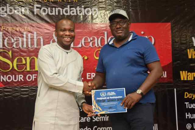Eric Igban Foundation Holds Leadership Seminar