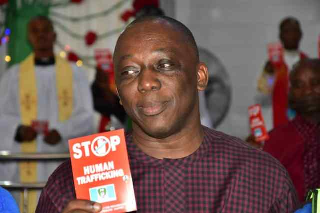 Peter Mrakpor Campaign Against Human Trafficking