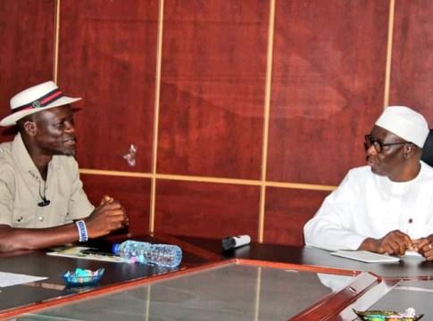 L-R: CEPEJ National Coordinator, Comrade Mulade Sheriff and Director General, National Orientation Agency (NOA) Dr Garba Abari