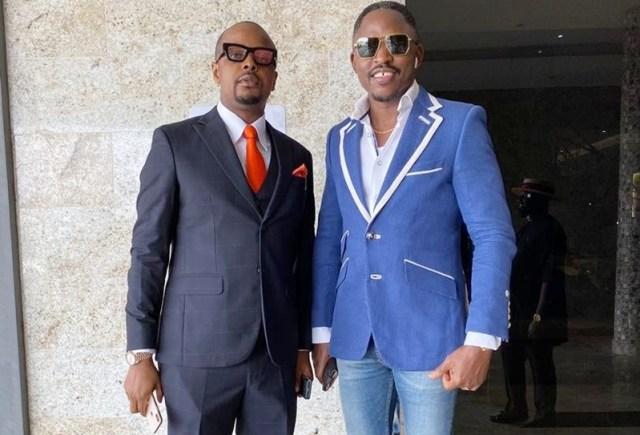 L-R: Stanley Uzochukwu and Rt Hon Friday Ossai Osanebi
