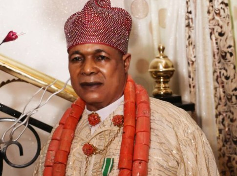 King Charles Ayemi Botu, JP, OFR, Paramount Ruler of Seimbiri kingdom, in Burutu local government area of Delta State.
