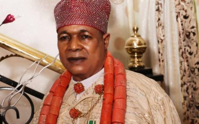 King Charles Ayemi Botu, JP, OFR, Paramount Ruler of Seimbiri kingdom, in Burutu local government area of Delta State.