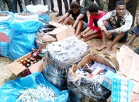 Suspected Dealers of Cocaine and Indian Hemp Arrested in Asaba by Police