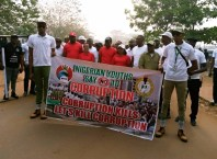 EFCC and NYSC Anti Corruption Walk in Delta