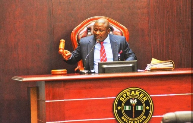 Delta Speaker, Rt. Hon. Sheriff Oborevwori
