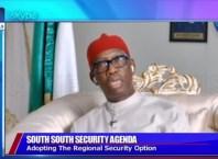 Delta State Governor, Senator Ifeanyi Okowa Speaking on Channels Television