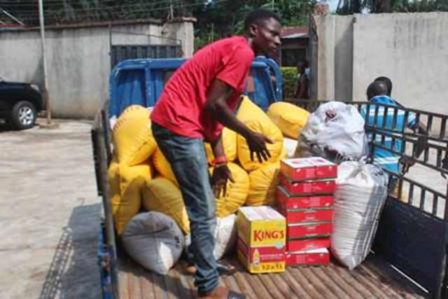 Hon Ndudi Elumelu Food Distribution to Aniocha/Oshimili Federal Constituents
