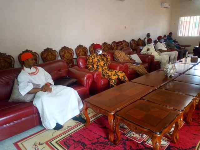 Delta Traditional Rulers at the Meeting