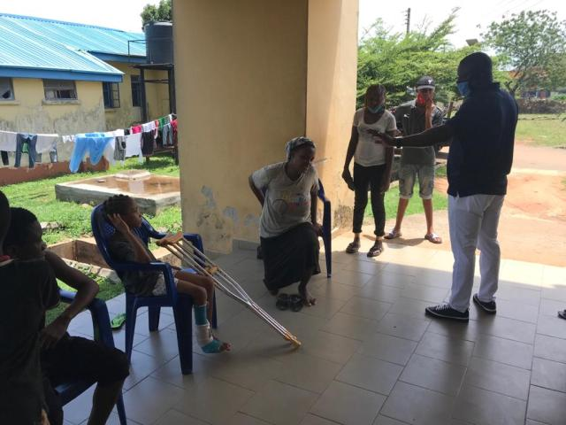 Festus Okoh Rescues Little Miss Glory Roland