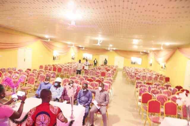 DESOPADEC Multi-Purpose Hall Project In Obodo Community